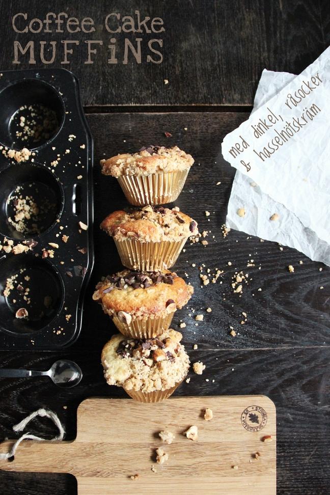 Dinkel Coffee Cake Muffins Surprise - CHOSEFRi